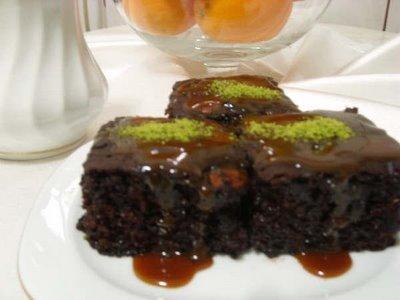 ıslak kek tarifi resimli