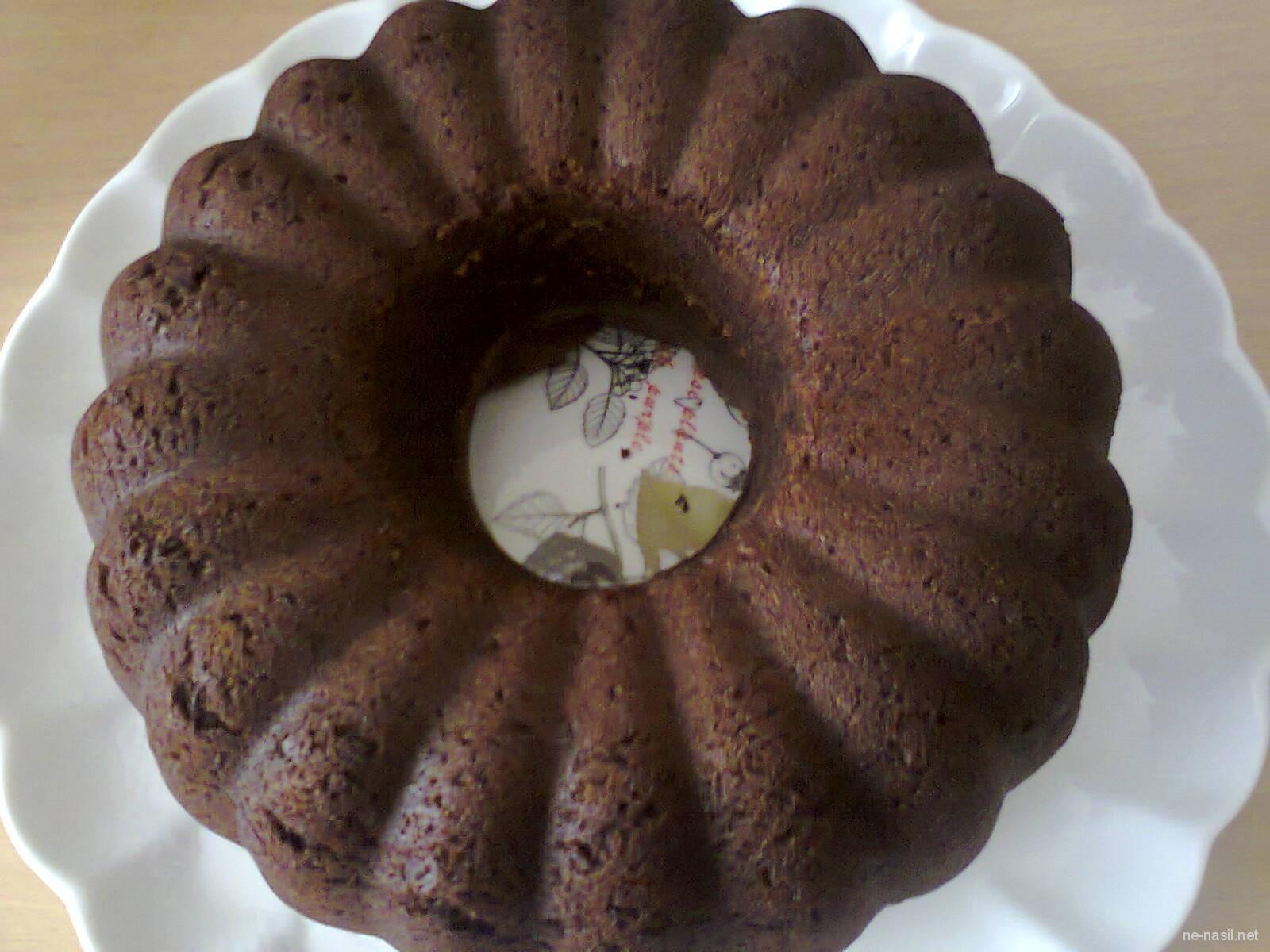 Kakaolu Sodalı Kek Tarifi